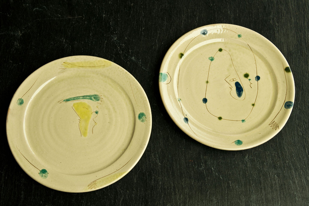 Hand-Painted Ceramic Dishes