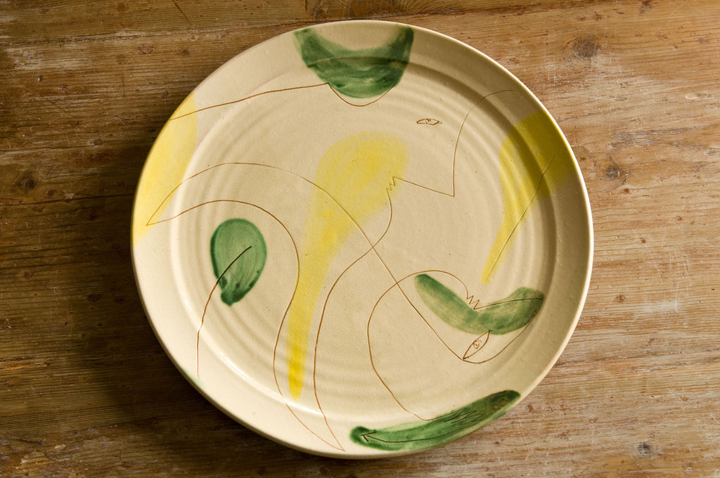 Modern Design Serving Platter by Hans Fischer