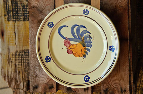 Hand-Painted Rustic dish
