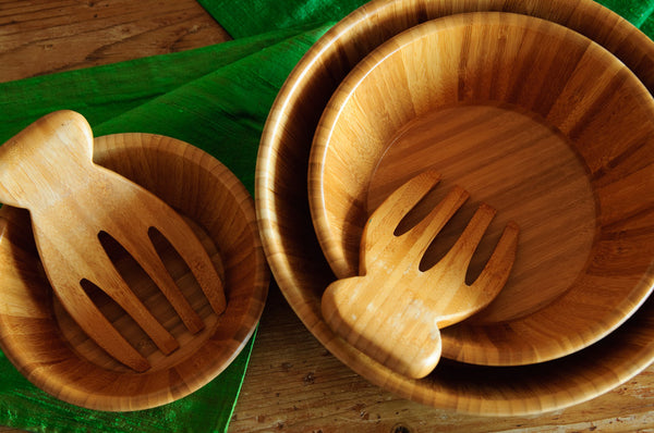 Bowl Set in Bamboo