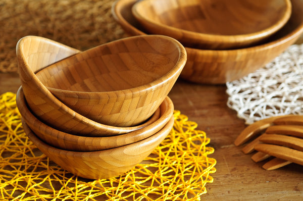 100 Bio Shell Bowls Wooden Bowls By Bambum Dishesonly