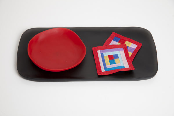 Futuristic Resin Serving Tray by Tina Frey Designs