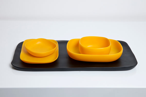 Jelli Belli - 3-Piece  Handmade Resin Serving Set