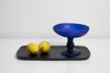 antique pedestal bowl, designer pedestal bowl,