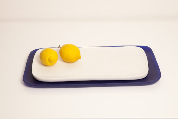 Lunare - Handmade Resin Appetizer Tray