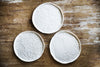 Handmade Artistic White Porcelain Plates Made in Italy