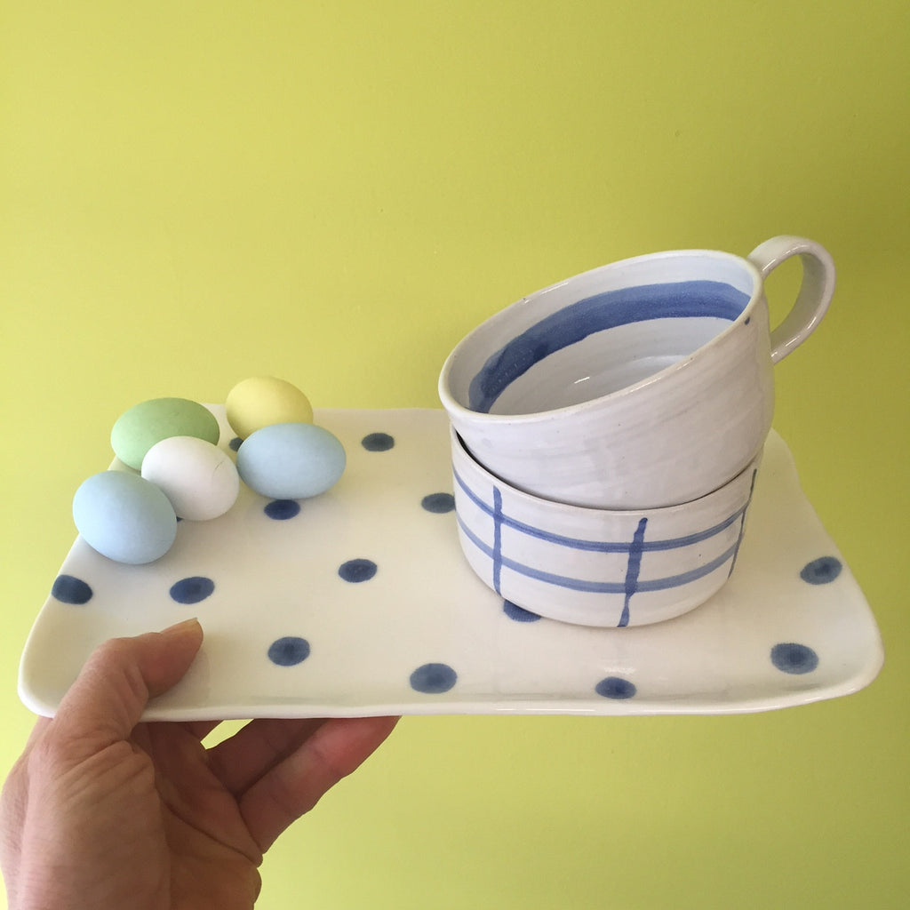 Buongiorno - Handmade Cup and Plate - Easter