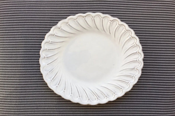 Barocco - Vintage Style Ceramic Side Plate & Unique Cool and Modern Italian Dinner Plates \u2013 DishesOnly