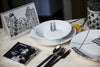 12-Piece Trendy Porcelain Dinner Set