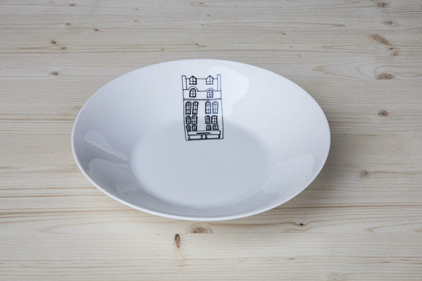 Trendy Porcelain Soup & Pasta Bowl