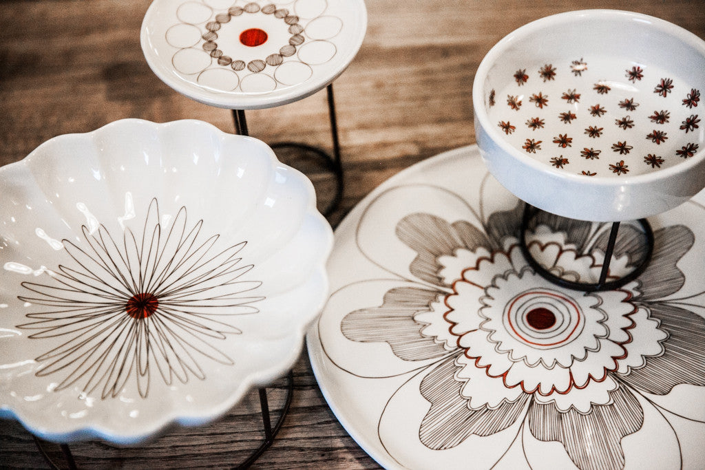 4-Piece Porcelain Set