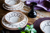luxurious Italian 3-Piece Dinner Set