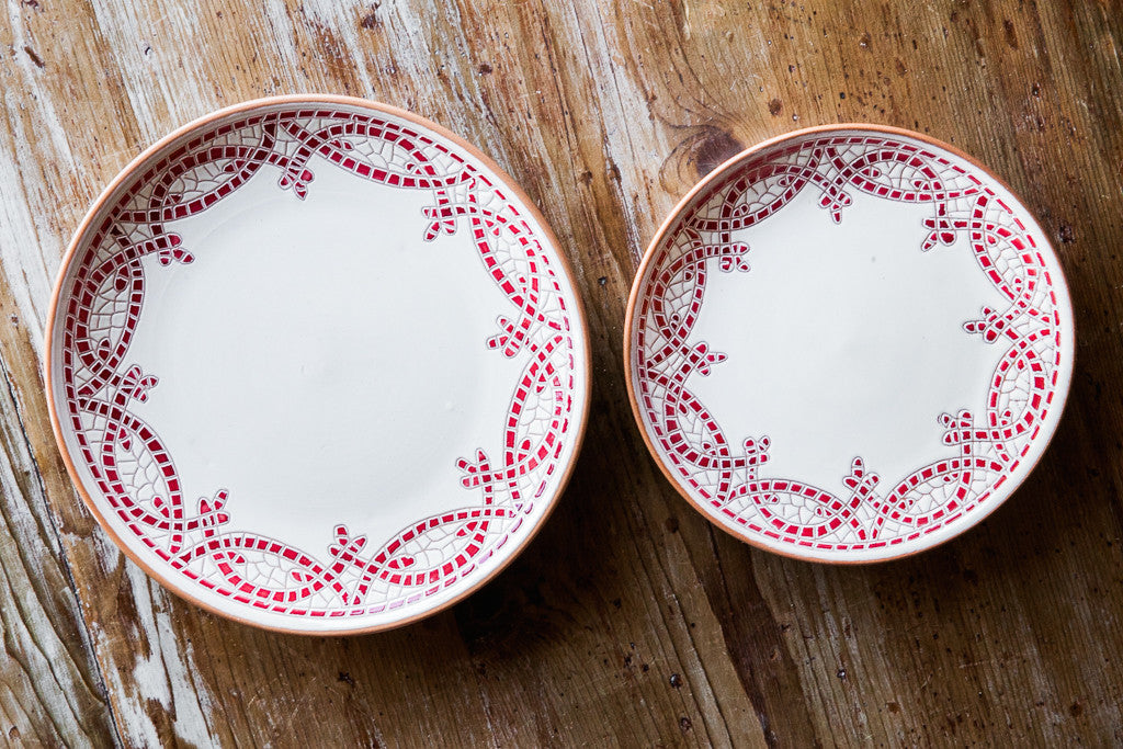 Hand-painted Ceramic Dishes Made in Italy