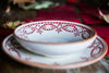 Mosaico Rosso - Hand-Painted red Dinner Set