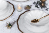 Oro - Elegant Christmas Dinner Set