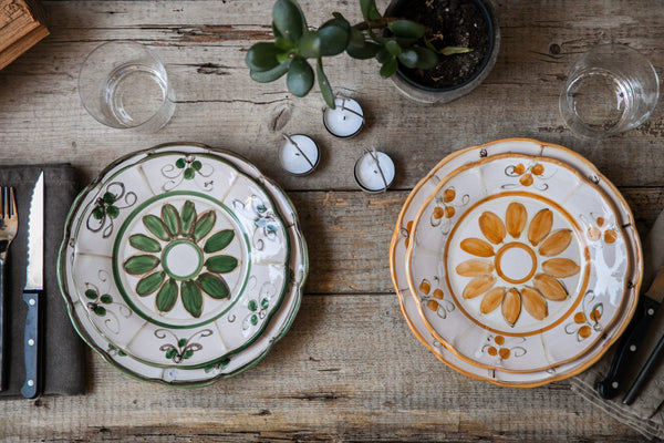 Papa - Hand-Painted Ceramic Dinner Set