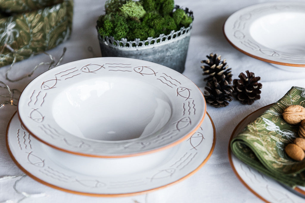 Mediterraneo - One-off Ceramic Dinner Set