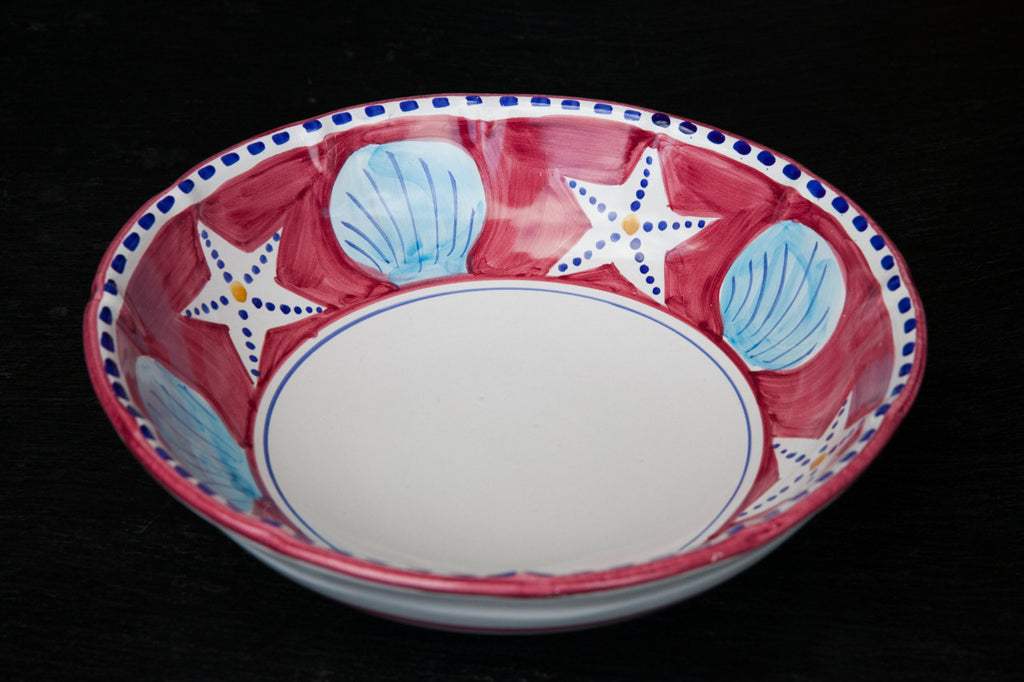 Zoo - Hand-Painted Serving Bowl