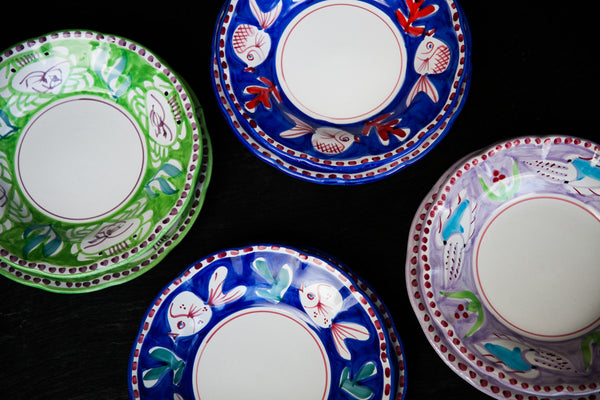 Zoo - Hand-Painted dinner set