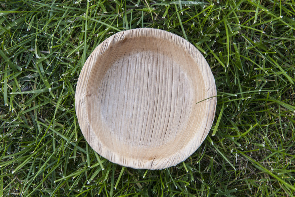 ECO-Palm Leaves Geometric Dinner Plates and Bowls