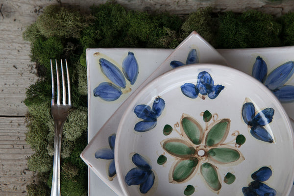 Zen - Hand-Painted Ceramic Dinner Set