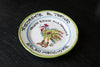 Hand-Painted Plate with Restaurant Motif by Solimene