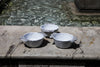 Rustic-Chic Ceramic Side Bowls Handmade in Italy