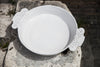 Rustic-Chic Ceramic Serving Bowl Handmade in Italy