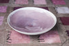 Porcelain Serving Bowl with Watercolor Effect