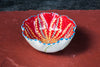 Hand-Painted Flower-Shaped Mini Bowl