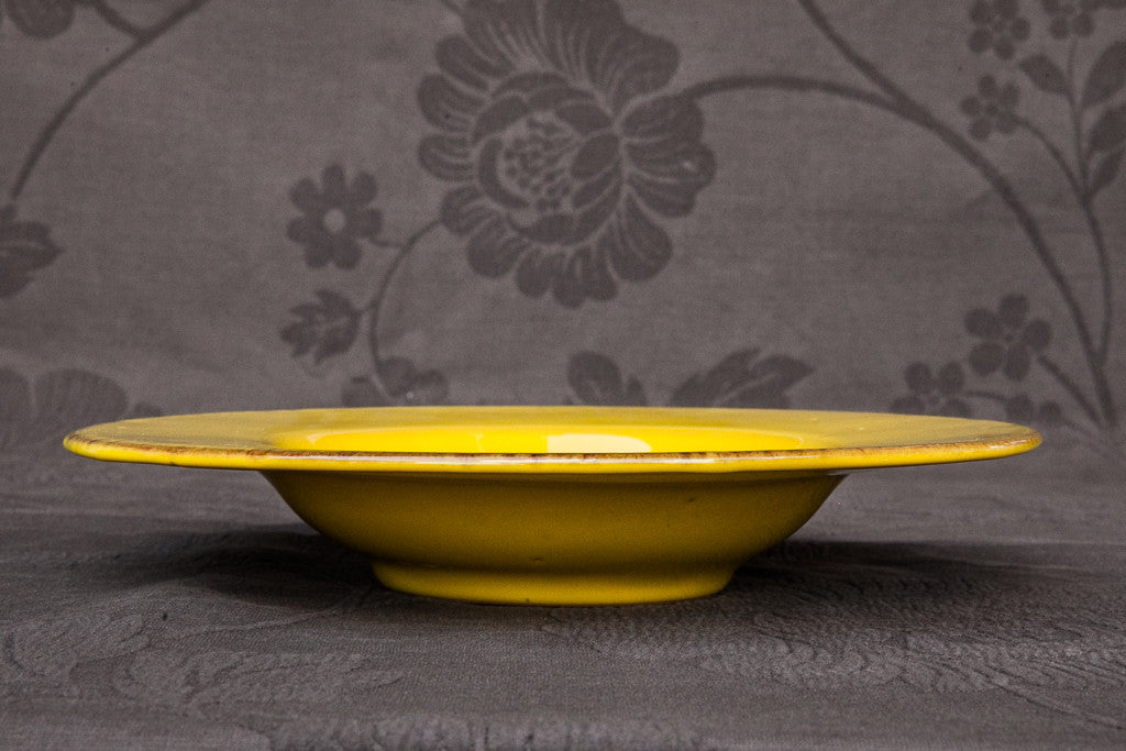 Handmade Ceramic Soup & Pasta Bowl Made in Italy