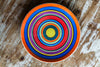 Handmade Colorful Ceramic Dinner Plate Made in Italy