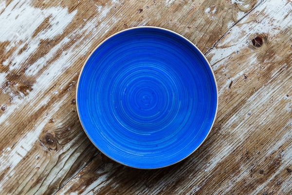 Handmade Colorful Ceramic Plate Made in Italy