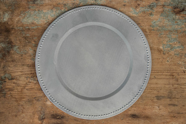 Sottopiatto - Tin Platter and Tray
