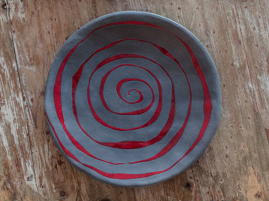 Primitivo - One-off centerpiece platter and bowl