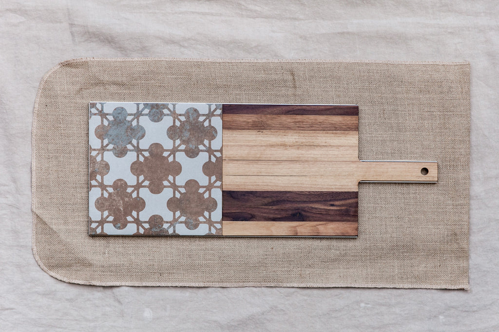 Mezzo Mezzo - Wood&Gres Cheese and Chopping Board