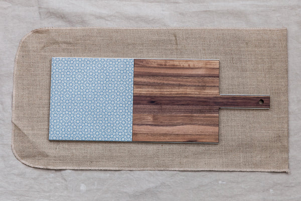 Mezzo Mezzo-Wood&Gres Cheese and Chopping Board
