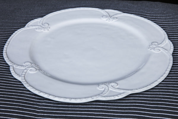 Barocco - Vintage Style Ceramic Dinner Plate