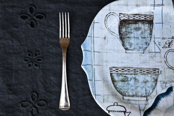 Tazze-Printed Glass Dinner Set