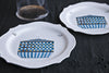 Printed Glass Dinner Set Made in Italy