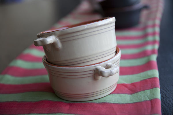 Individual Ceramic Cooking Pots by Virginia Casa