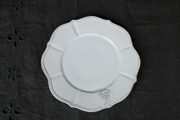 Handmade Ceramic Scalloped Dinner Plate