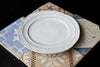 Shabby-Chic Italian Ceramic Dinner Plate