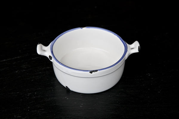 Battello - Shabby-Chic Ceramic Enamel Mini Casserole