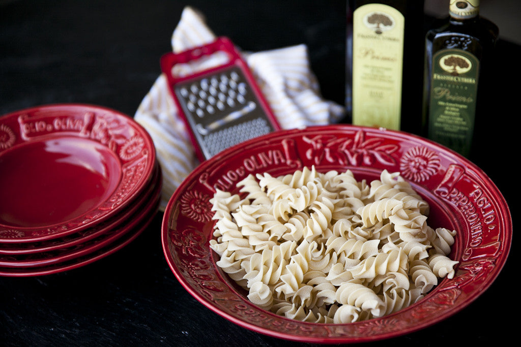 Italian-Style 9-Piece Pasta Bowl Set
