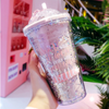Kawaii Creative Sequin Star Water Bottle AHA9300