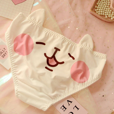 Kawaii Lolita Funny Animal Cotton Panty JND933