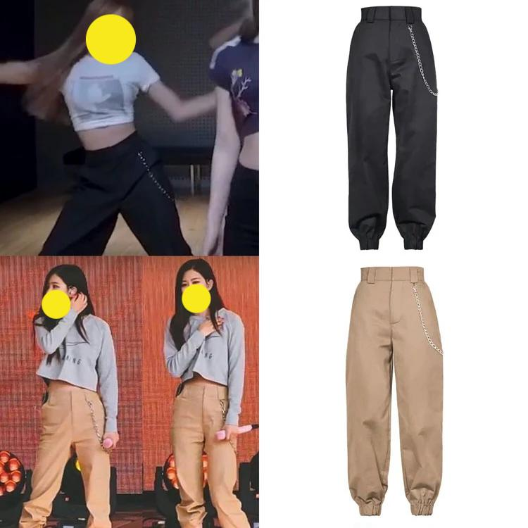Kpop Idol Fashion Cargo Pants KPOP119834