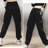 Harajuku Cotton High Waist Cargo Pants AHA7577