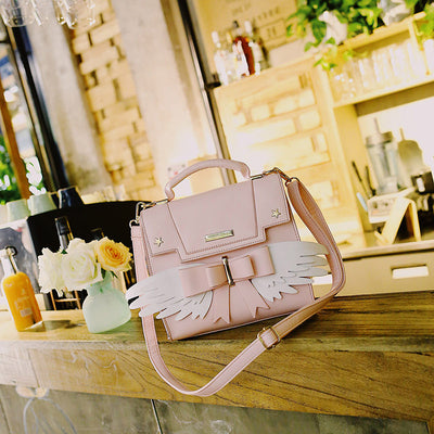 Kawaii Anime PU Leather Shoulder Bag JAS374